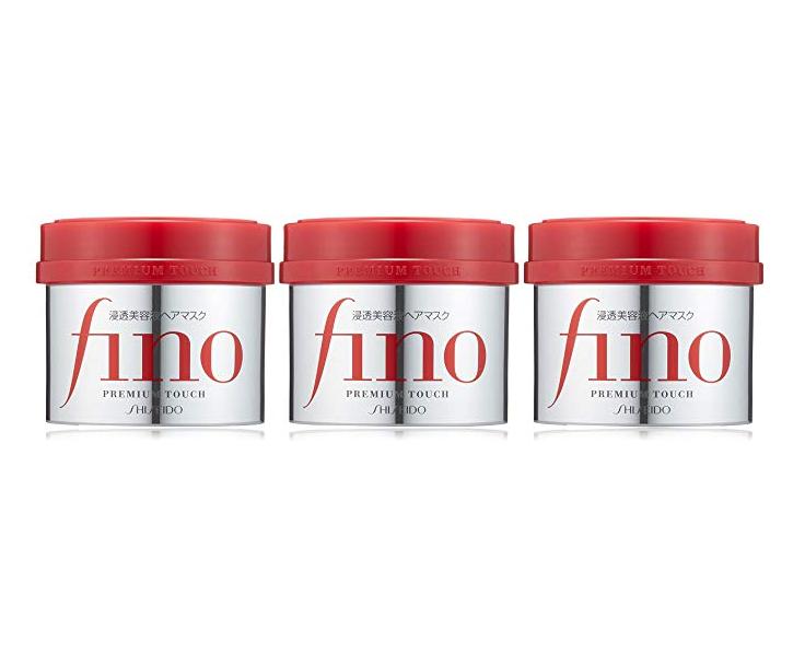 用美容液给头发做SPA!Shiseido资生堂 Fino浸透美容液发膜 230g×3个