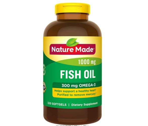 送长辈的最佳选择!Nature Made 天维美 Omega-3鱼油1000mg*320粒
