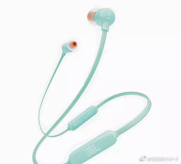 #JBL•节奏无处不在# JBL T110BT 线控带麦磁吸式无线蓝牙耳机
