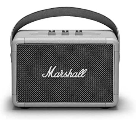 今晚结束!Marshall马歇尔Kilburn II 便携式蓝牙音箱奶油灰
