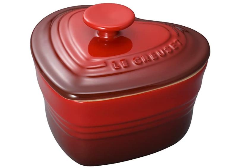 Le Creuset 酷彩 珐琅炫瓷心型烤罐 带盖 300ML