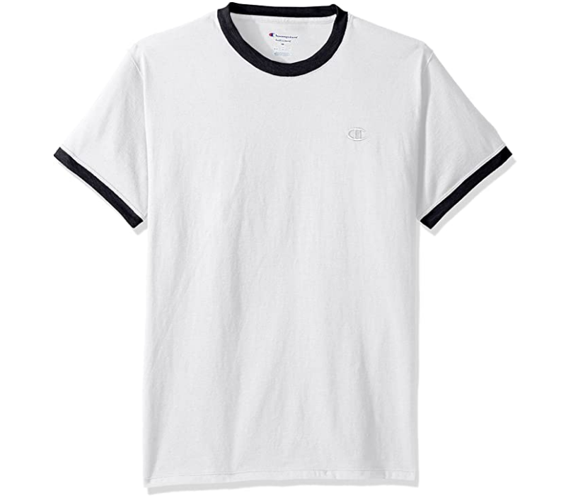 Champion 经典针织 Jersey Ringer白色T恤