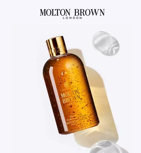 Molton Brown 摩顿布朗 乌木金箔沐浴露300ml