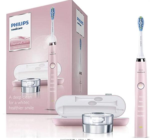 海外购【Philips飞利浦 HX9331/32第三代钻石电动牙刷】